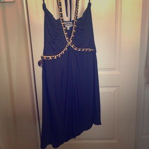 Beautiful gold embellished dress or top